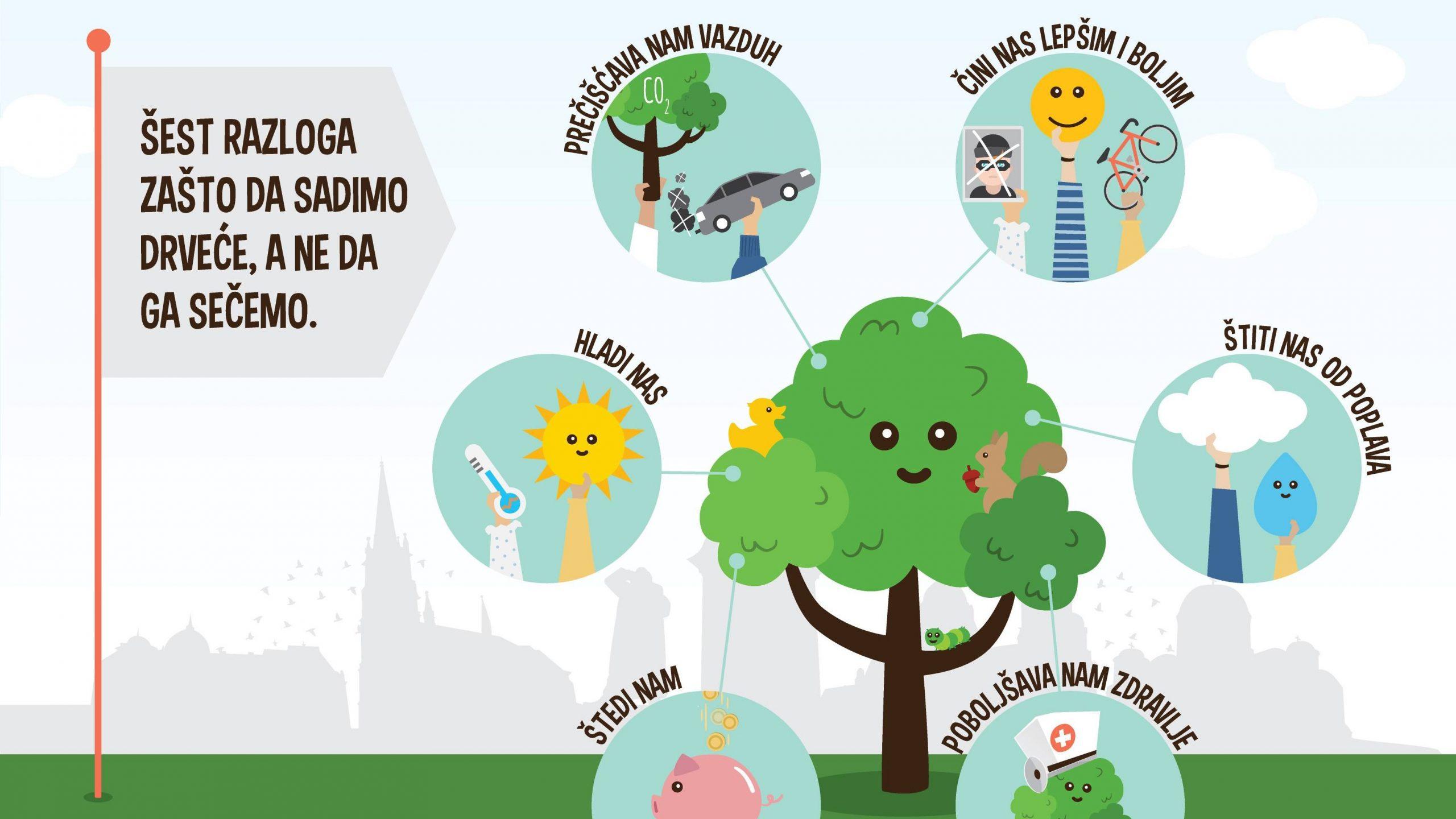 Šest načina kako drveće unapređuje kvalitet života 1