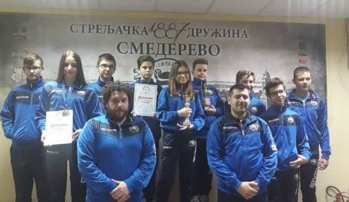 Smederevci najuspešniji na Prvenstvu Centralne Srbije serijskom vazdušnom puškom 7