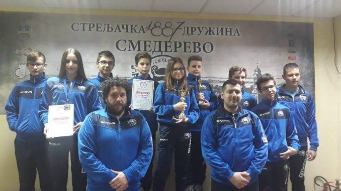 Smederevci najuspešniji na Prvenstvu Centralne Srbije serijskom vazdušnom puškom 3