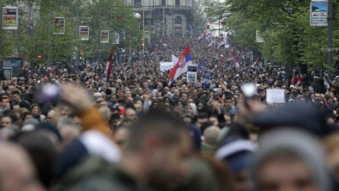 Strani mediji o demonstracijama u Beogradu 1