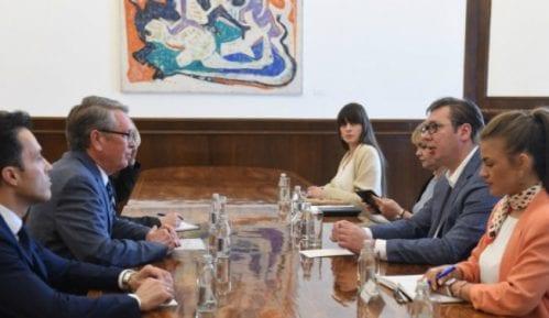 Vučić Čepurinu: Čast mi je što ću se ponovo sastati sa Putinom 11