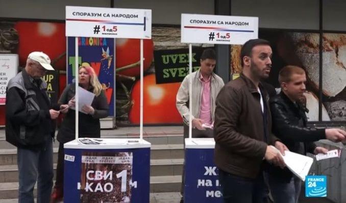 Francuska televizija: Protest u Beogradu test za opoziciju 1