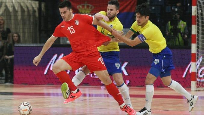 Srbija u futsalu izgubili od Brazila 1