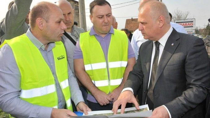 Vesić: Proširenje kanalizacione mreže u Obrenovcu 1