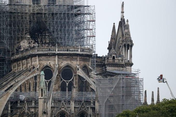 Loran Nunjez: Stručnjaci danas o posledicama požara na konstrukciju Notr Dama 1