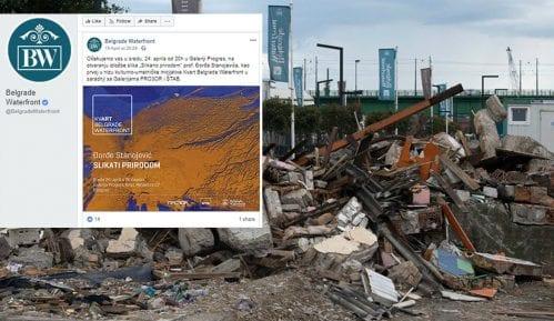 NDBG: Belgrade Waterfront organizuje otvaranje izložbe na dan rušenja u Hercegovačkoj 14