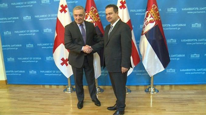 Dačić u Gruziji: Saradnja dve države na visokom političkom nivou 3