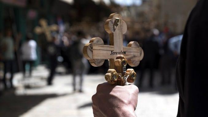 Hrišćani obeležavaju Veliki petak u Jerusalimu 4