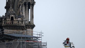Katedrala Notr Dam nakon požara (FOTO) 3