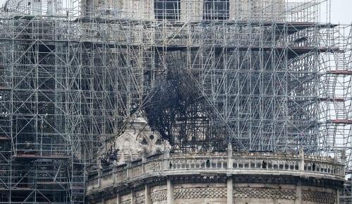 Katedrala Notr Dam nakon požara (FOTO) 1