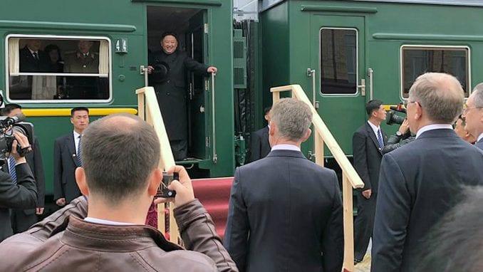 Kim Džong Un stigao u Vladivostok na prvi samit sa Putinom 1