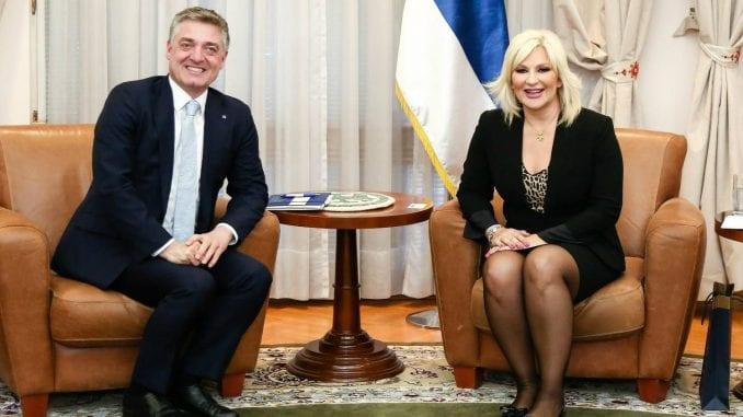 Mihajlović sa šefom misije Saveta Evrope o unapređenju položaja žena 1