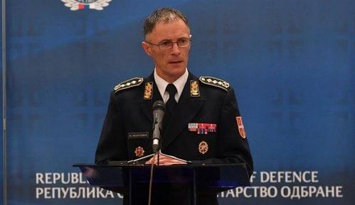 Načelnik Generalštaba Vojske Srbije general Milan Mojsilović u poseti Skoplju 3