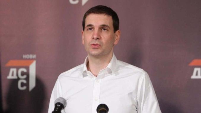 Jovanović (DSS): Ohrabruje odluka Univerziteta o doktoratu Siniše Malog 1