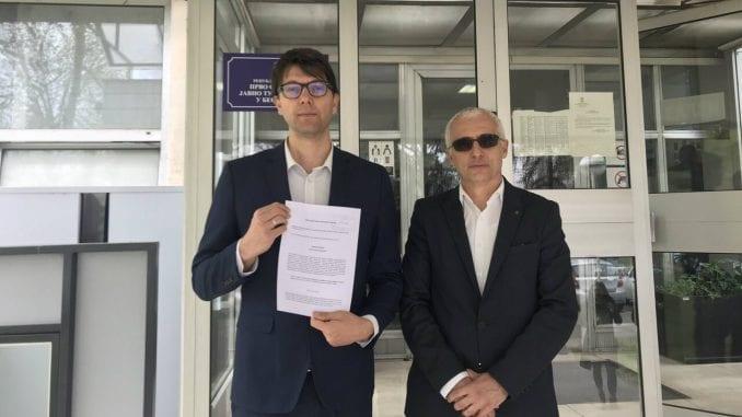 Jovanović: Neće me sprečiti da postavim odborničko pitanje, prijava protiv Vesića 1