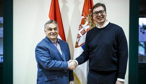 Vučić čestitao Orbanu na odličnim rezultatima na evropskim izborima 2