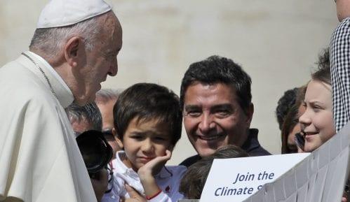 Greta Tunberg u Vatikanu širi svoju kampanju za zaštitu klime 6