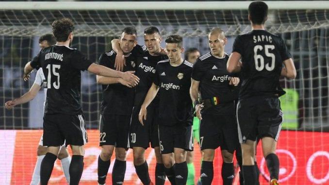 Partizan pobedio Čukarički posle preokreta 1