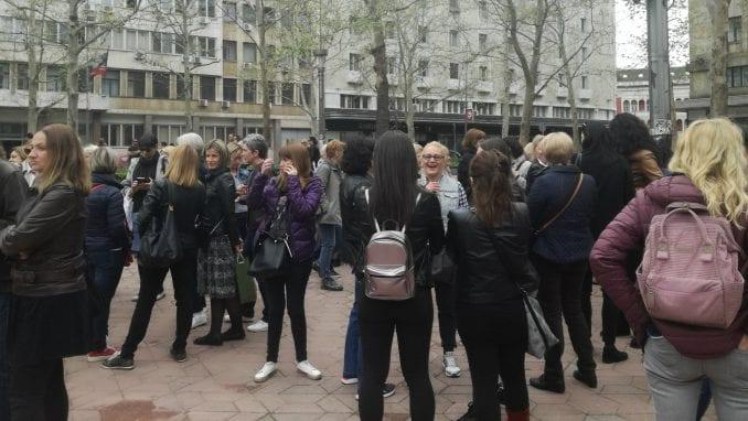 Propao protest vaspitača (FOTO) 1