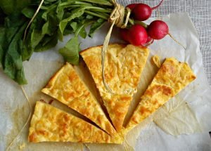 Recept nedelje: Prelivena pita sa sirom 2