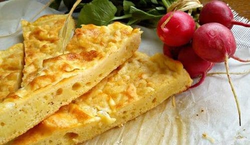 Recept nedelje: Prelivena pita sa sirom 11