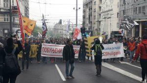 Govornici na protestu: Vučić je uzurpirao vlast, sa njim nemamo budućnost 9