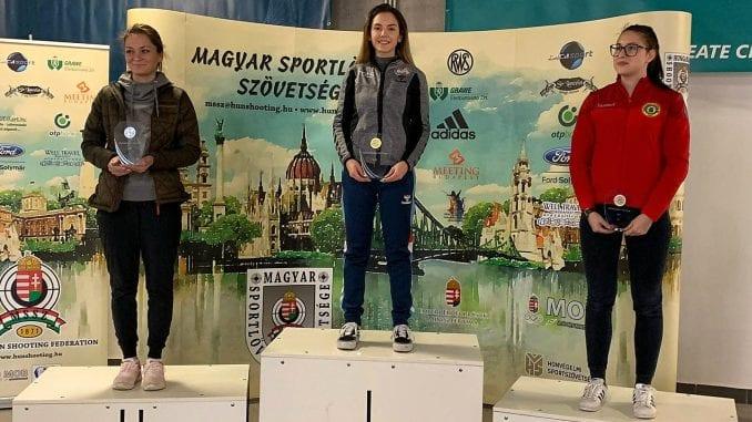 Tri pobede Sanje Vukašinović u Budimpešti 1