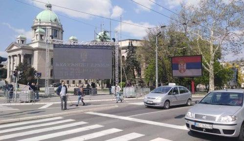 MUP: Privremeno obustavljen saobraćaj u više ulica 13