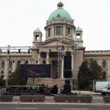 "Pred Skupštinom protest građana pod nazivom ""Ustani narode"" 8"