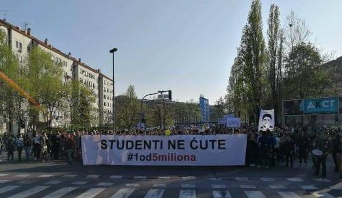 """Studenti """"1 od 5 miliona"""": Mladi ne žele ovakvu državu, ne žele diktatorski režim 2"""