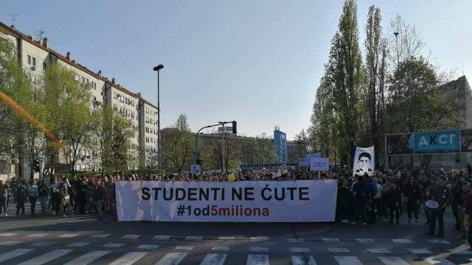 """Studenti """"1 od 5 miliona"""" pozvali na protest malih maturanata 19. juna 5"""