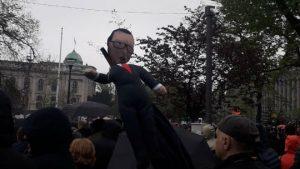 """Procena opozicije - 35.000 ljudi na protestu """"1 od 5 miliona"""" (FOTO, VIDEO) 11"""