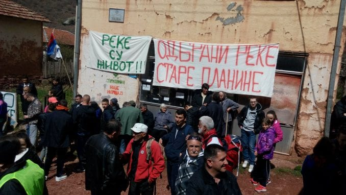 Protest protiv izgradnje MHE na Staroj planini 13. juna u Beogradu 1