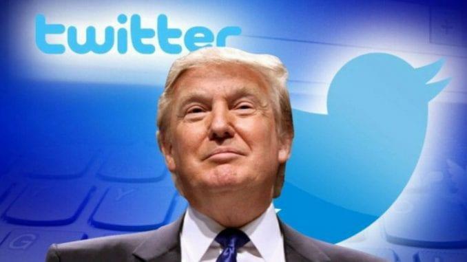 Tramp (opet) protiv Twittera 1