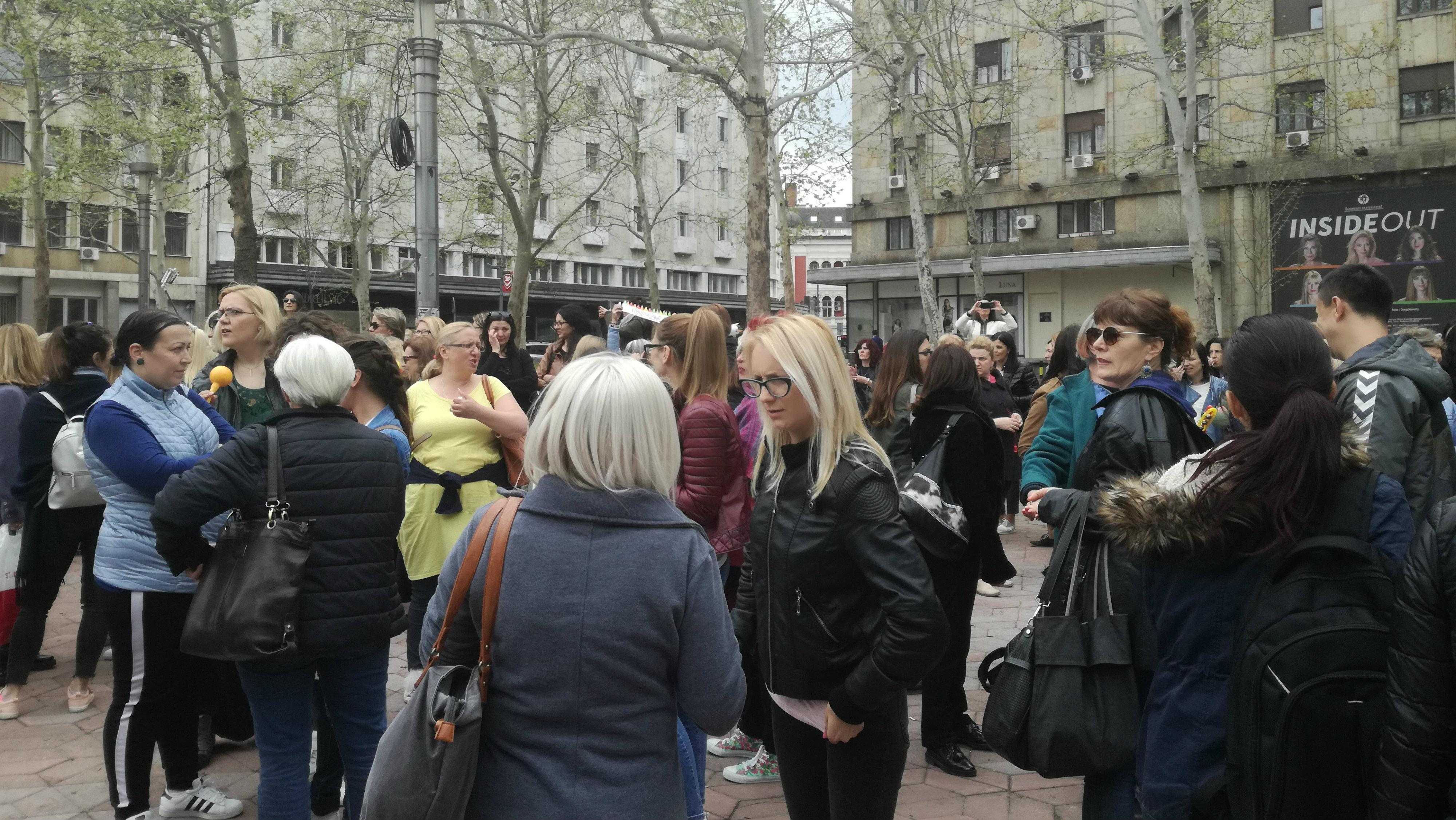 Propao protest vaspitača (FOTO) 2