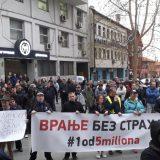 """Protesti """"1 od 5 miliona"""" i večeras u više gradova i opština Srbije (FOTO, VIDEO) 9"""