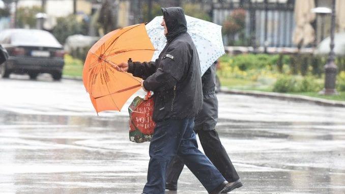 Danas oblačno, mestimično sa kišom 1