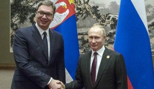 Državni vrh Putina informisao pre građana Srbije 14