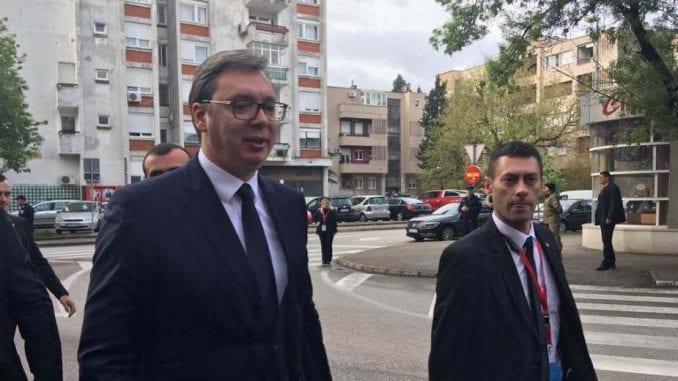 Vučić i Čović razgovarali o unapređenju saradnje Srbije i BiH 1
