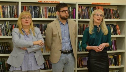 """Svečano otvorena renovirana Biblioteka """"Vuk Karadžić"""" na Novom Beogradu 5"""