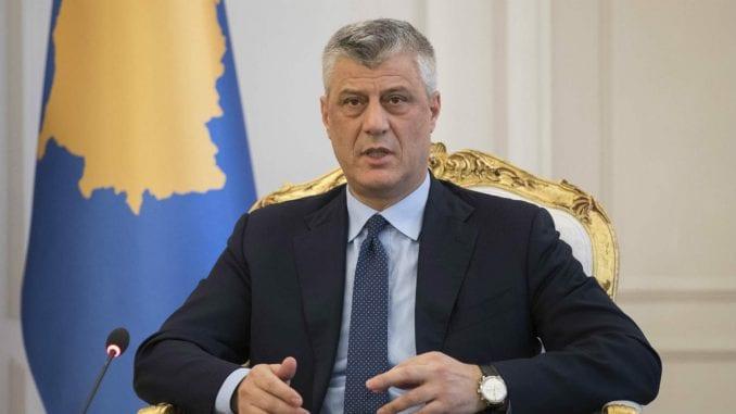 Vlada Kosova: Tači prekršio Ustav 2