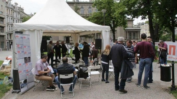 Šator Slobodne zone seli se danas u Knjaževac, u četvrtak Majdanpek 1
