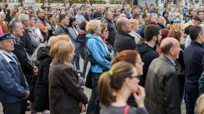 Požega: I posle hapšenja građani nastavljaju protest 3