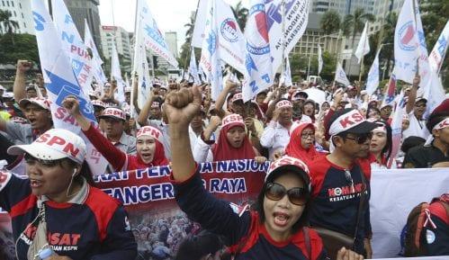 Prvomajski protesti širom Azije 15