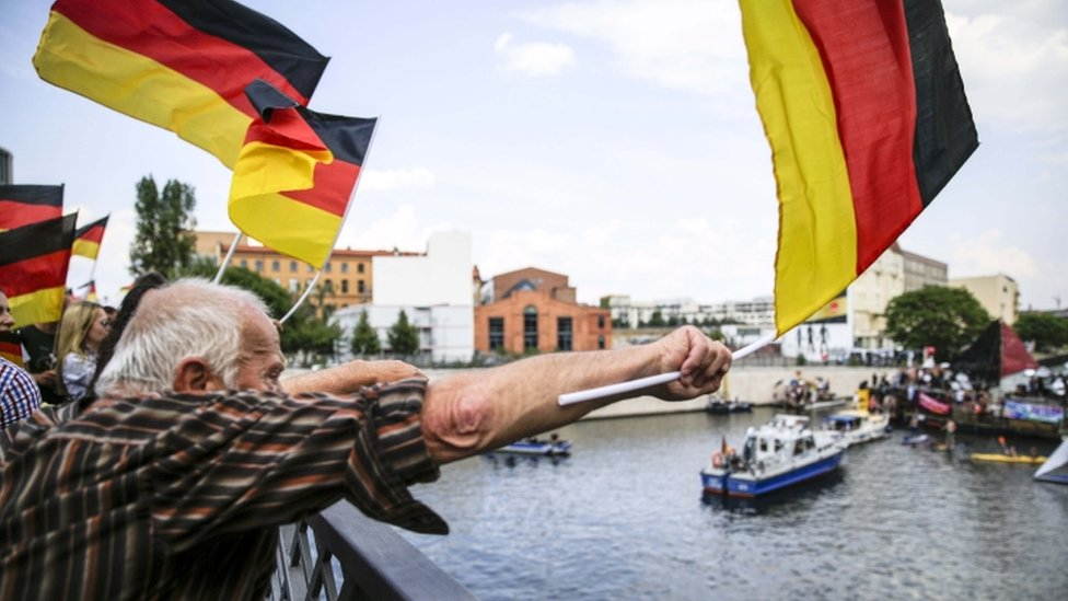 protest u Nemačkoj