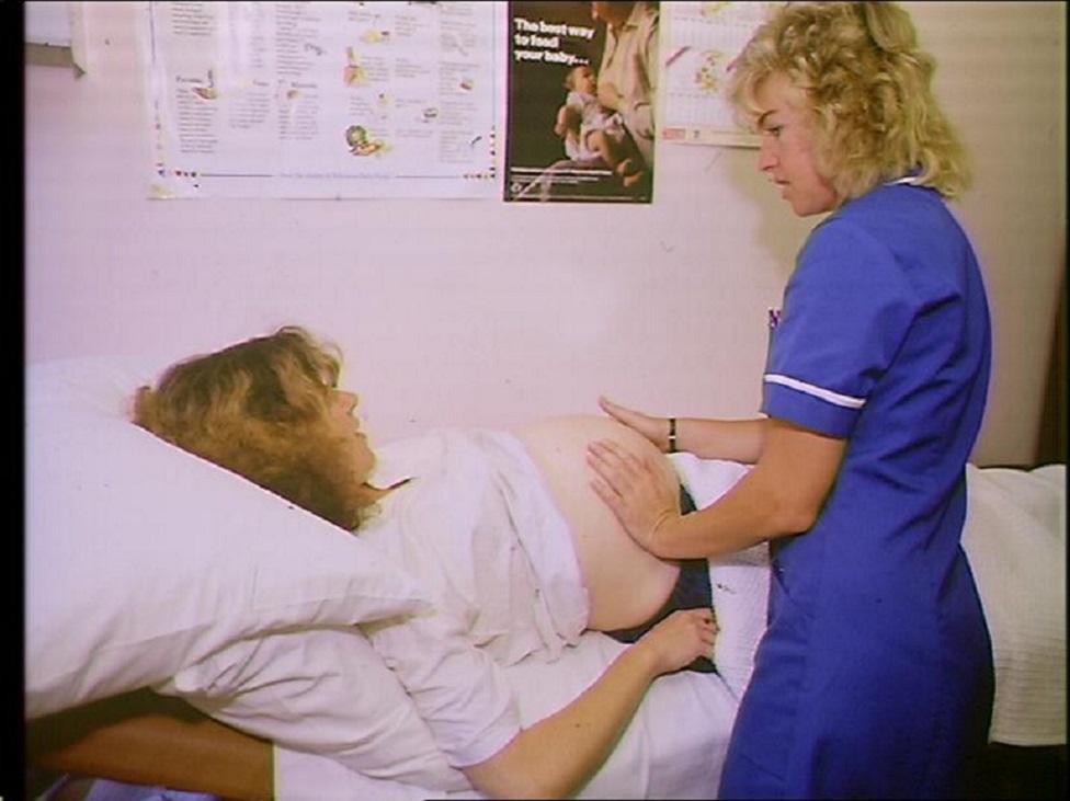 trudnica na pregledu