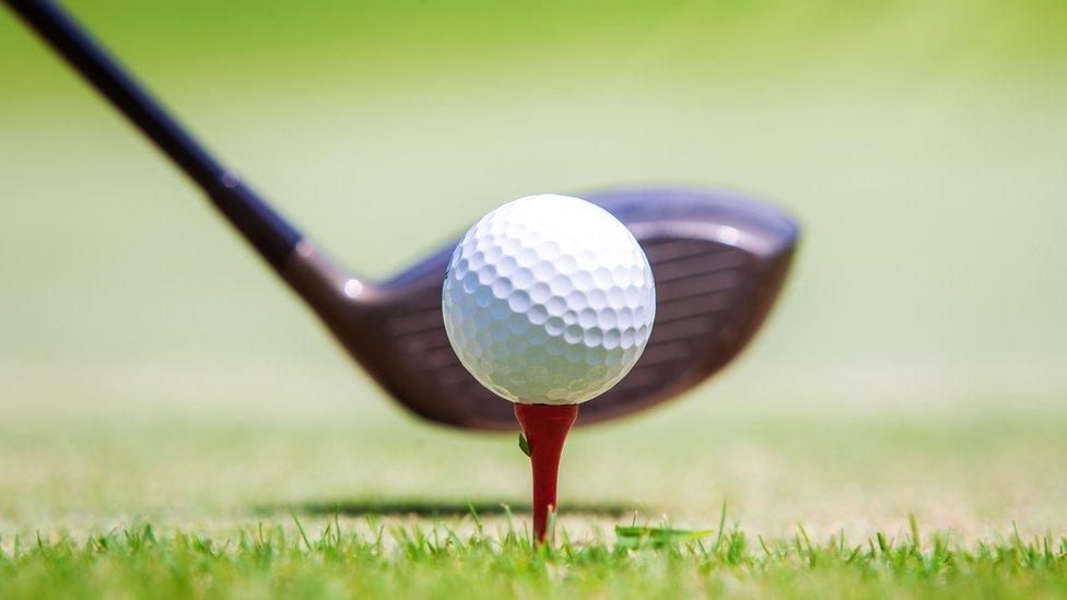 Loptica za golf na