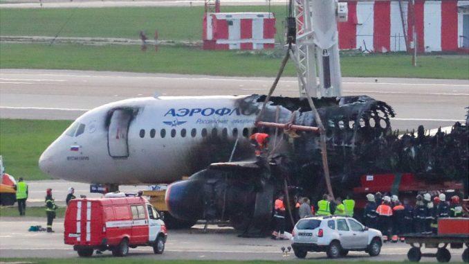 Nesreća u Moskvi: Sumnja se na grešku pilota 4