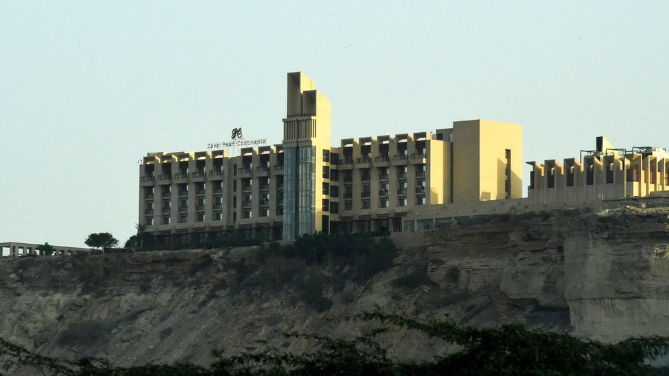 Perl Kontinetal hotel, Gvadar
