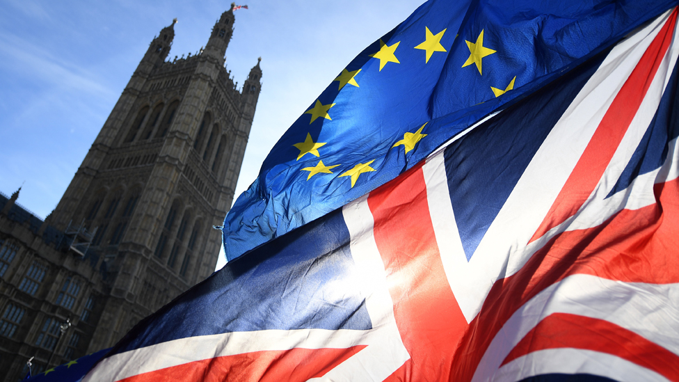bregzit evropska unija zastava